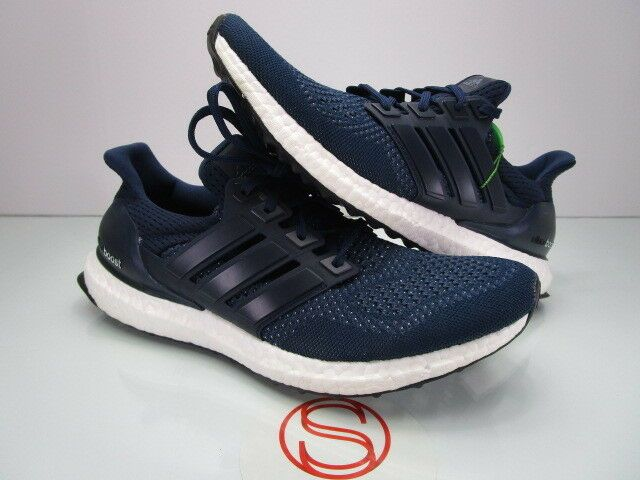 e435ac7937a Details about Mens Adidas Ultra Boost 1.0 Retro Navy Multi Color Toe ...