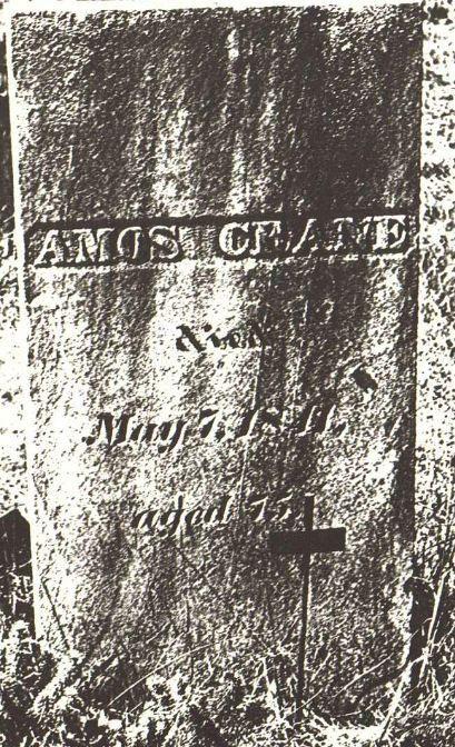 AMOS CRANE - Revolutionary War - Photos and Stories