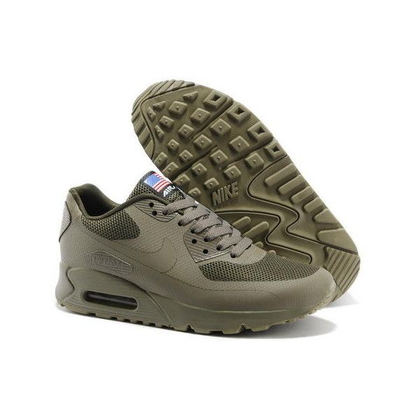 Cheap Nike Air Max 90 Hyperfuse QS Men Sneakers All Brown