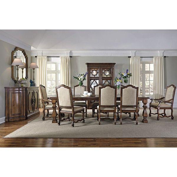 Montebella 8Pc Dining Group  Bernhardt  Star Furniture  Houston Stunning Dining Room Chairs San Antonio Decorating Inspiration