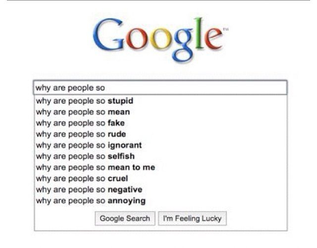 Google knows!  Be a Good Human!!