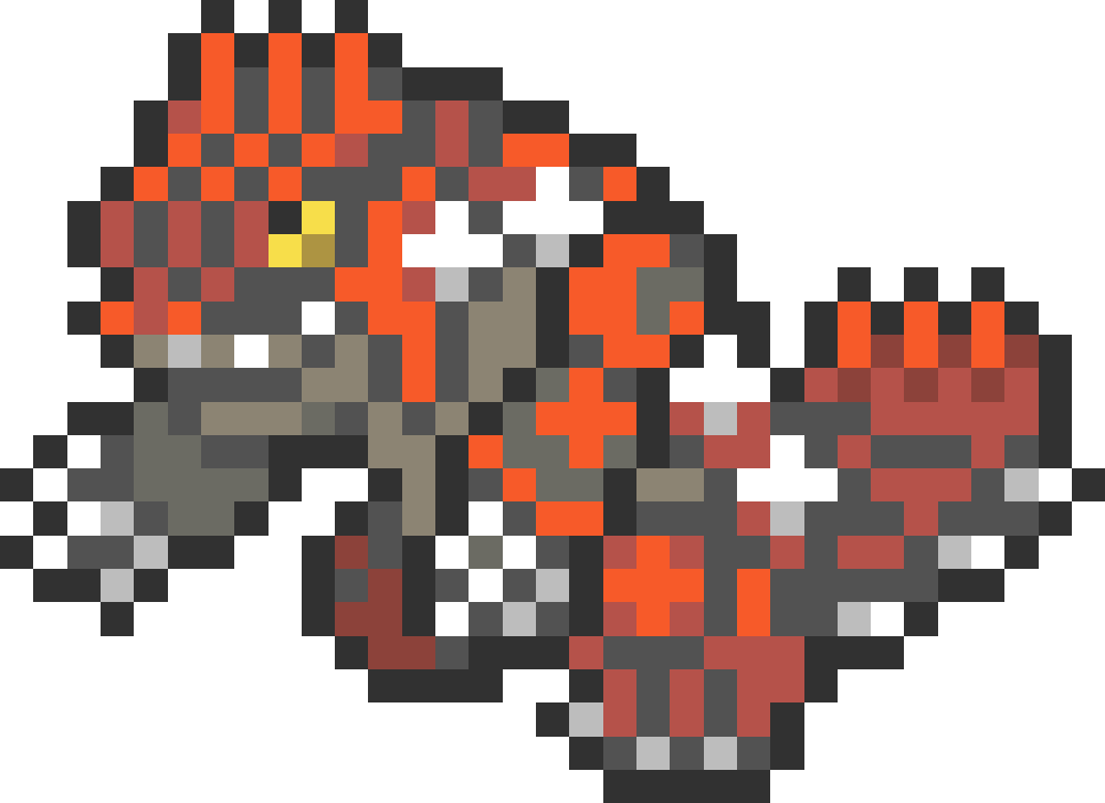 Pokedex Pixel Art Grid Pokemon