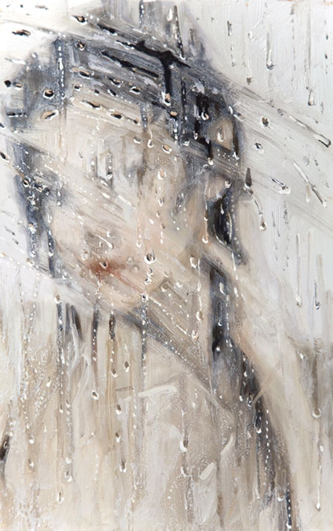 """Amazing Oil Painting By Alyssa Monks. In her views """"I am exploring the possibility and potential where representational painting and abstraction meet, if both can coexist in the same moment. Some nudity at the link"""