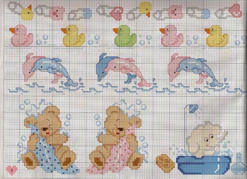 schemi punto croce bambini  craft idea  Pinterest ...