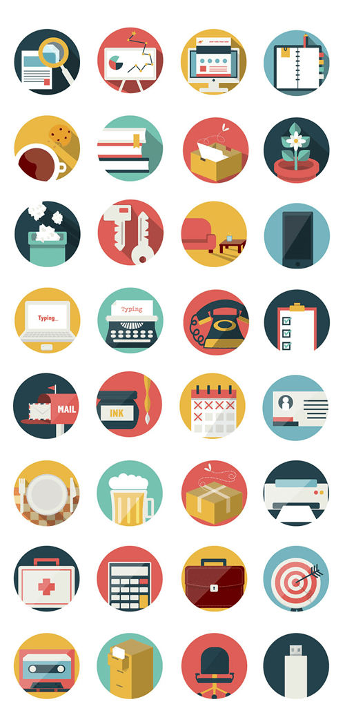 92 Office And Business Icons To Spice Up Your Designs Freebie Smashing Magazine Business Icon Website Icons Free Icons Png