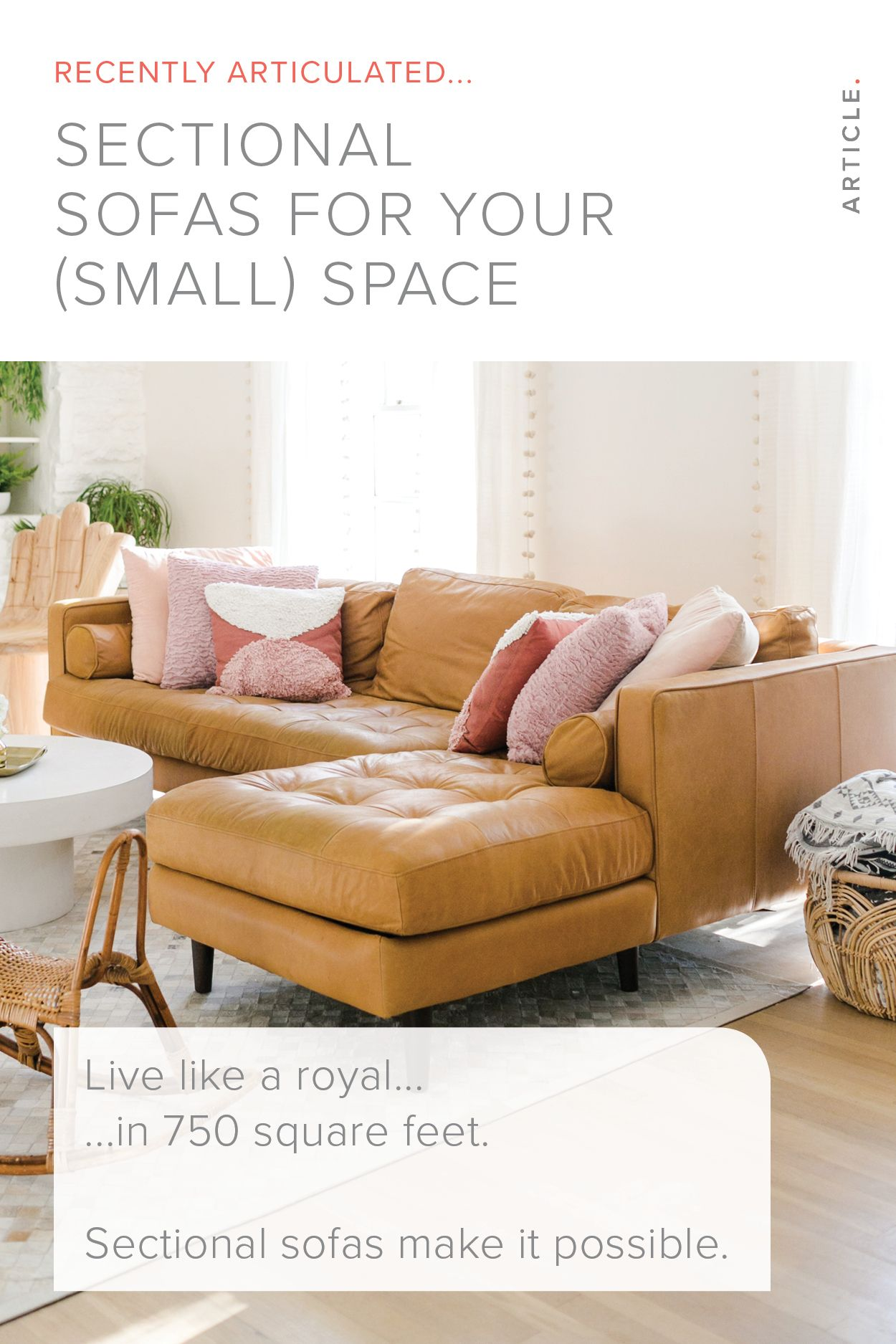 The Best Sectional Sofas for Small Spaces   Articulate   Sofas for ...