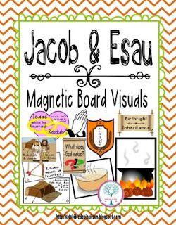 Cathy's Corner: Jacob & Esau   Bible Fun for Kids   Bible stories