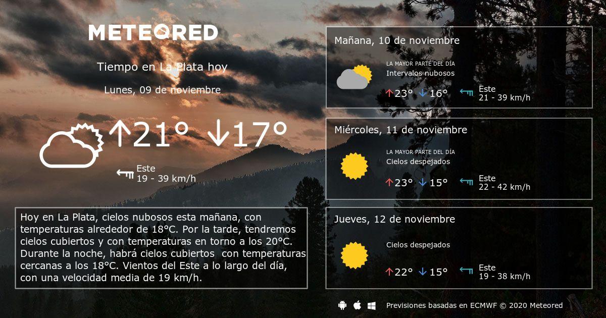 Tiempo En La Plata Meteored Arboleas Weather Graph Ladispoli