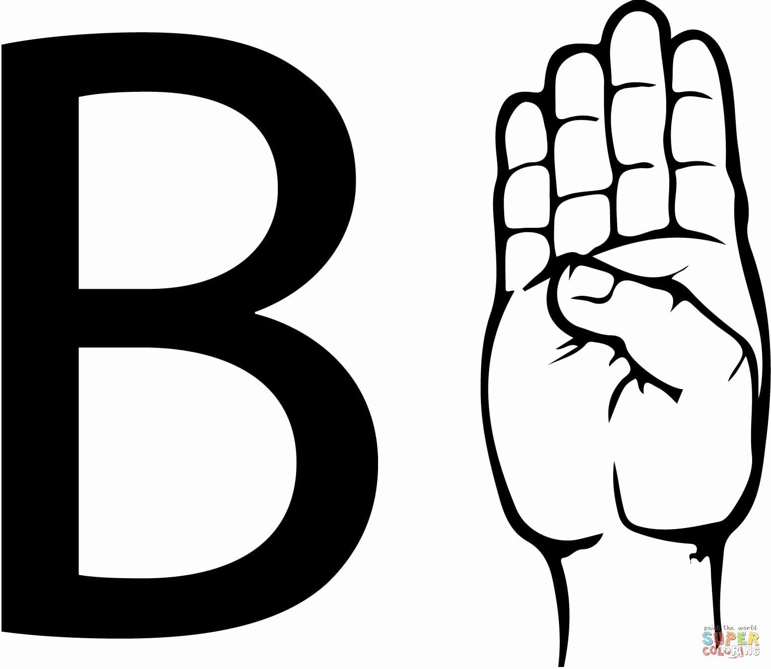 Letter B Coloring Pages Di