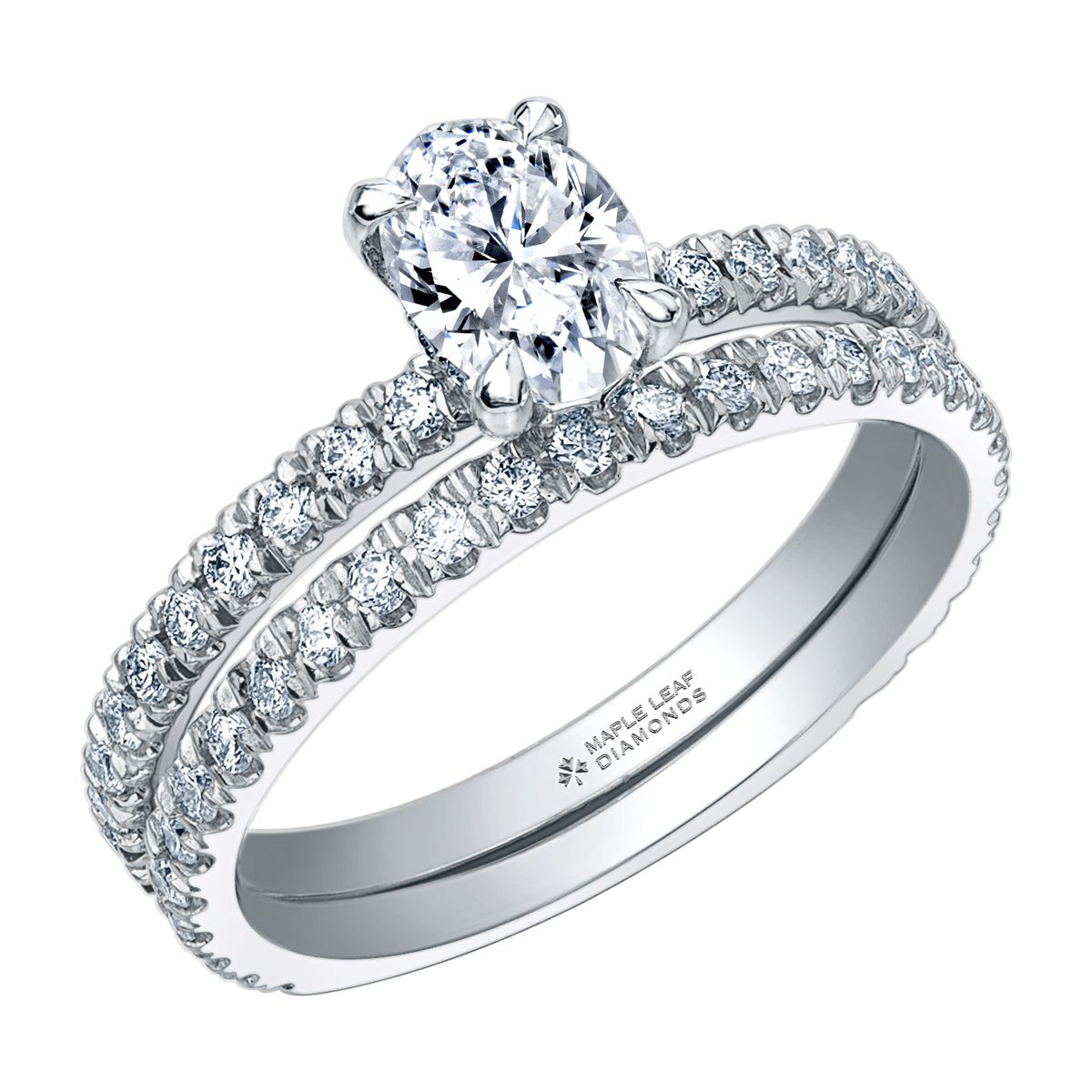 Classic, Timeless Oval Canadian Engagement ring with