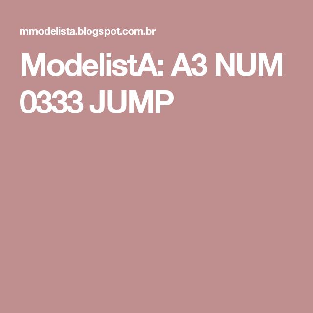 ModelistA: A3 NUM 0333 JUMP
