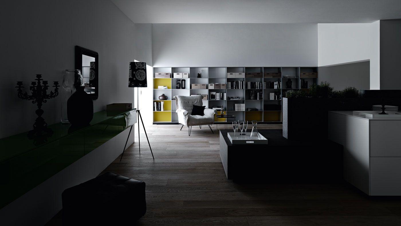Unico Ambiente Cucina Soggiorno pin on furniture / spaces