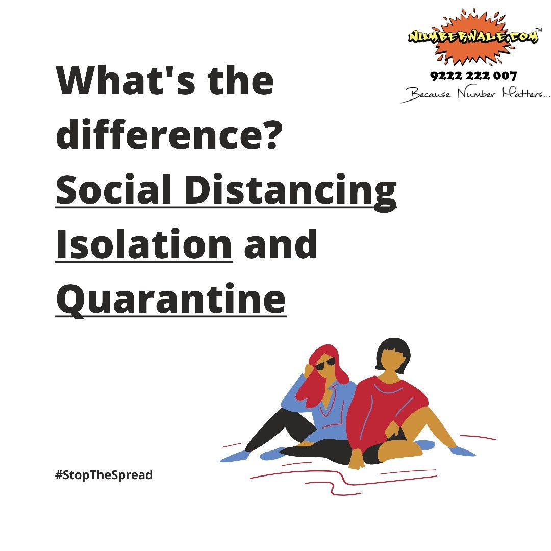 Difference you need to know about - Social distancing - Isolation - Quarantine 💯 #Staysafestayhome #nopanic #stay safe #stopthespread