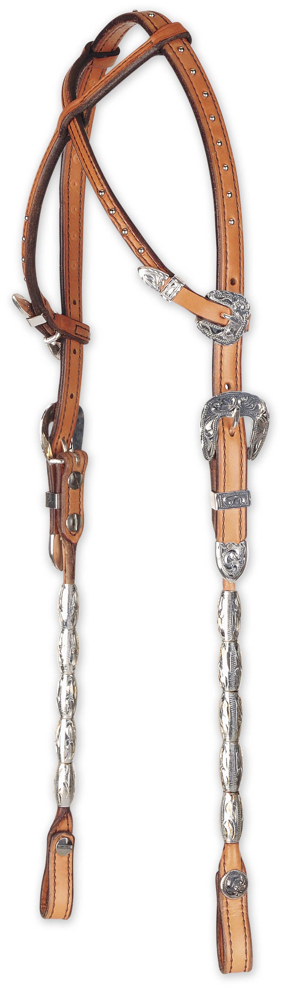 Another cross crown headstall from Hobby Horse Inc.