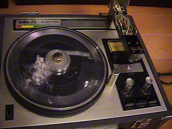 Pin On Record Cutting Lathe