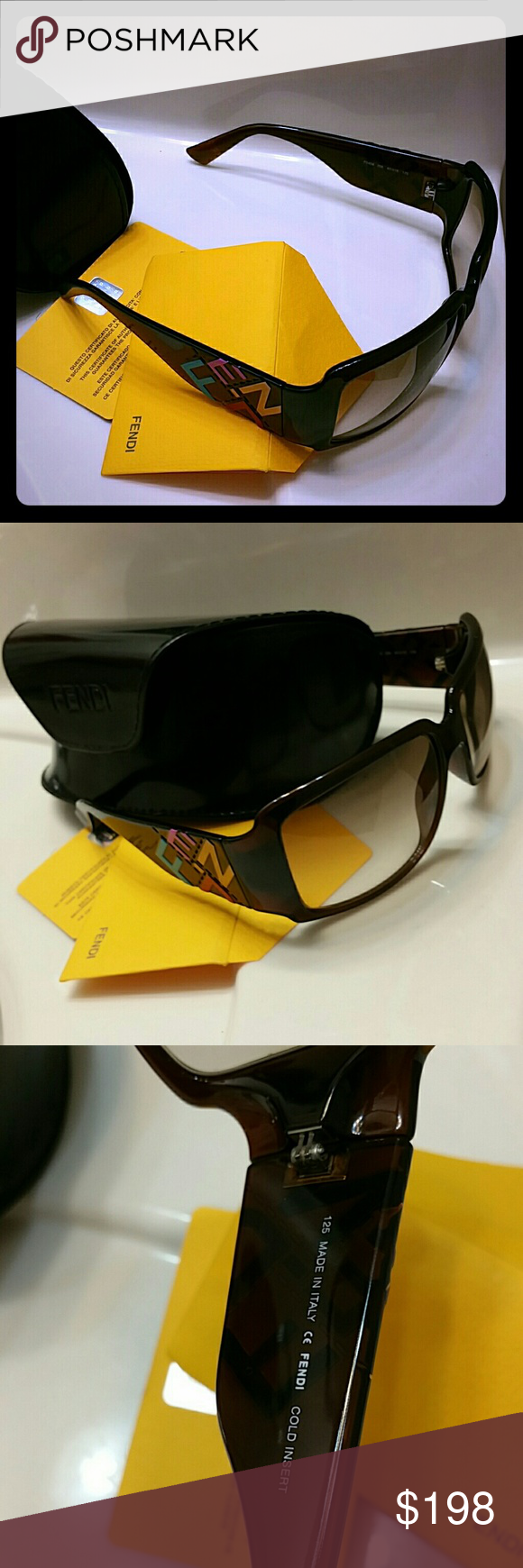 Authentic fendi sunglasses New Fendi Accessories Glasses