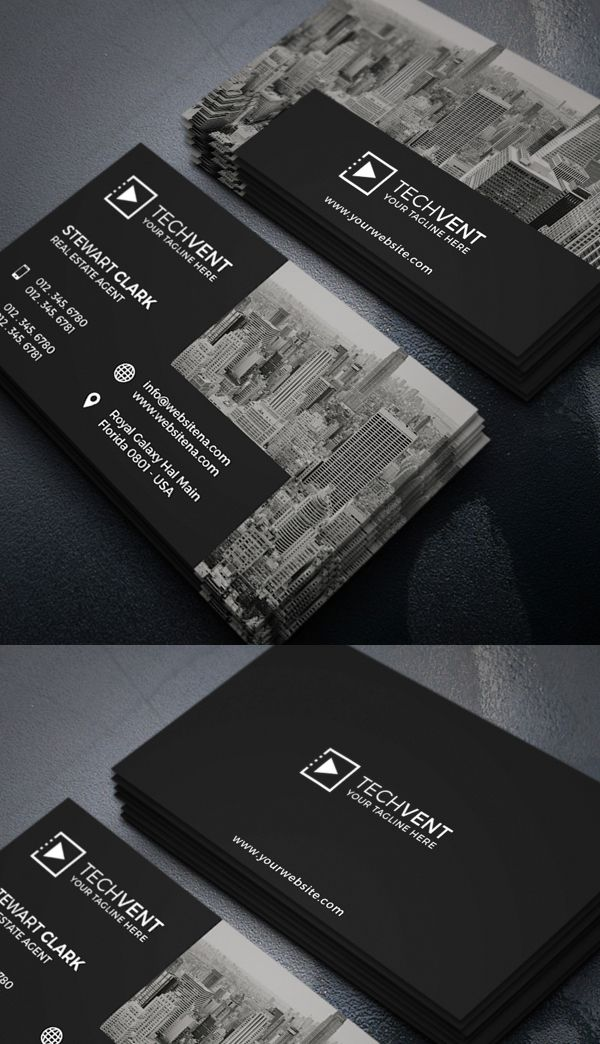 Real estate business card business cards pinterest cartes real estate business card reheart Image collections