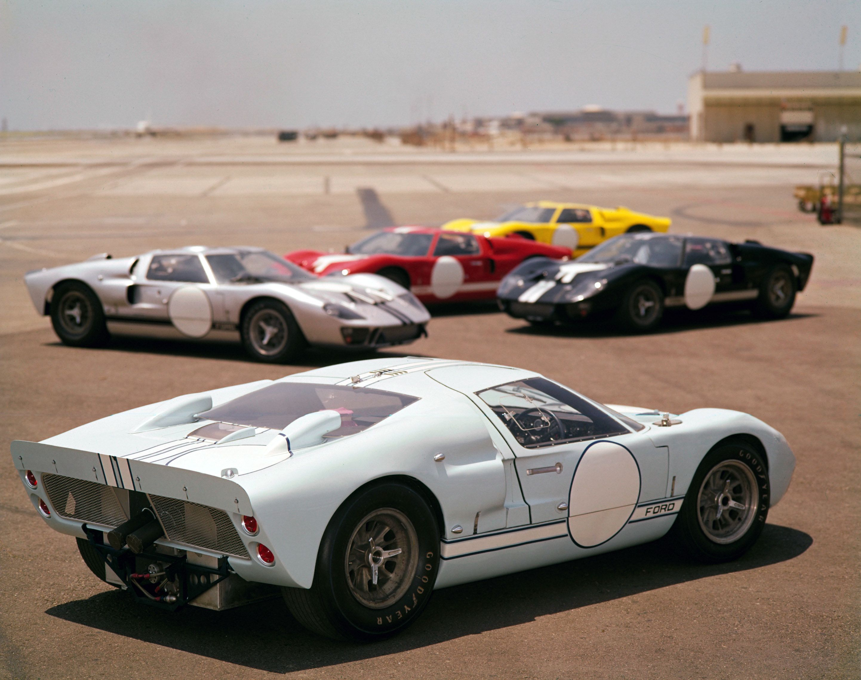 1966 ford gt40 mark ii and friends