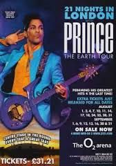 21 Night London Prince Tour Poster Concert Paraphrase On Dearly Beloved Mp3