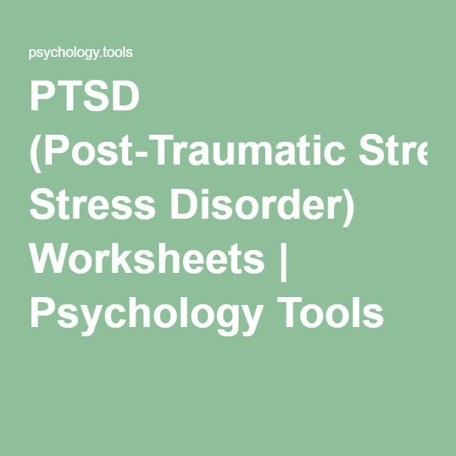 Journal scan reduced post traumatic stress in