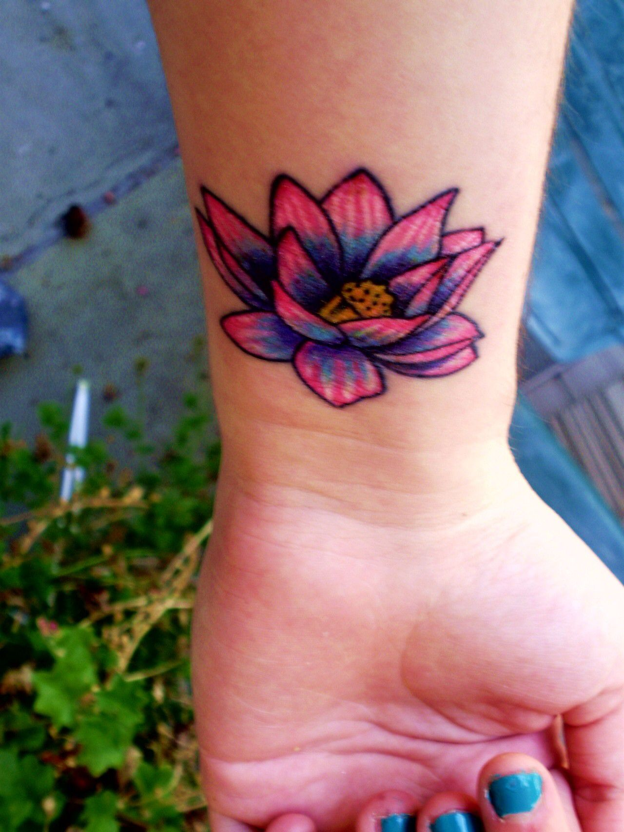Lotus flower tattoo symbolizing strength of overcoming struggle lotus flower tattoo symbolizing strength of overcoming struggle symbolizing new beginnings buycottarizona Gallery