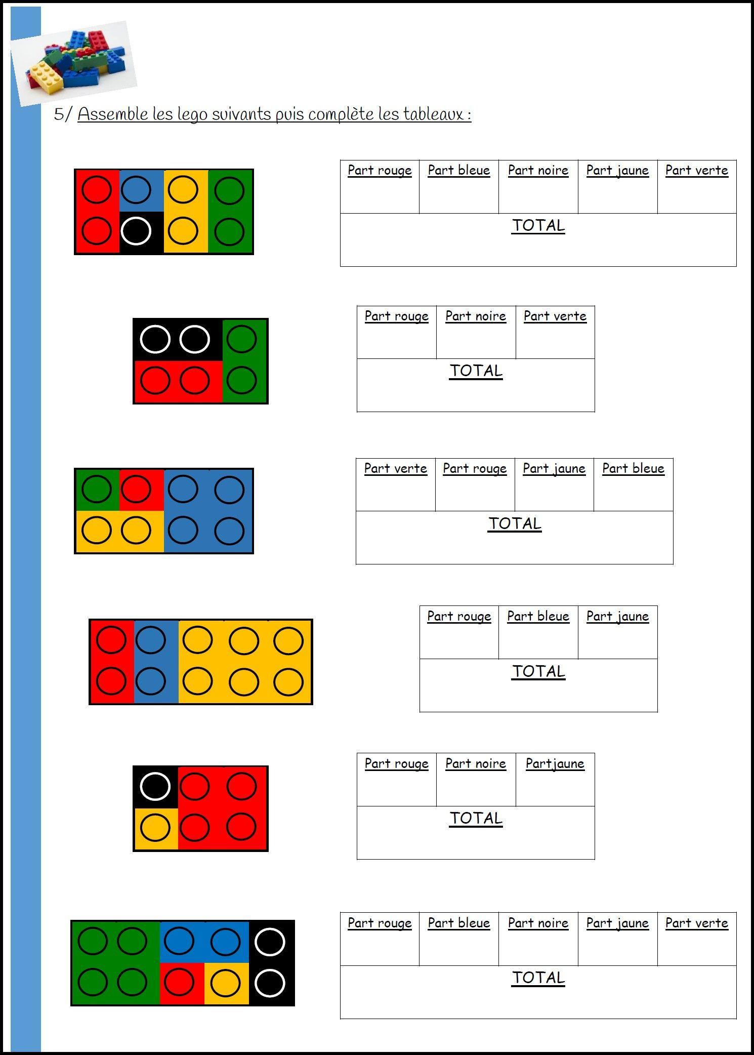 Fractions Et Legos