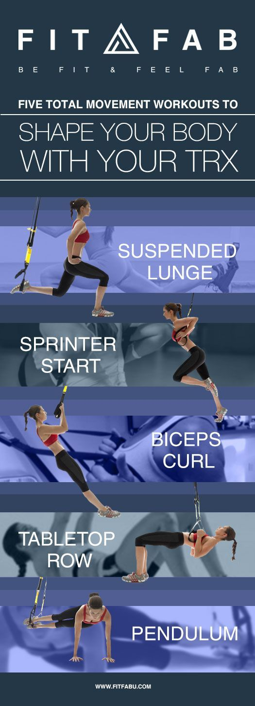 Blog - Five total movement workouts to shape your body with your TRX Active Wear for the modern day woman