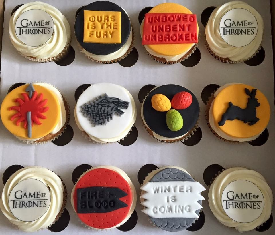 Game Of Thrones Got G O T Cupcakes By Siobhanscupcakekitchen
