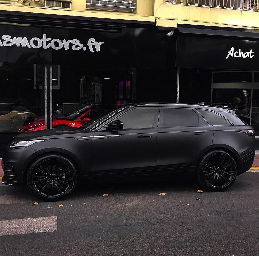 Range Rover Velar Black Rangerover Cars Car Black: All Black Range Rover Velar By @msmotors #velar