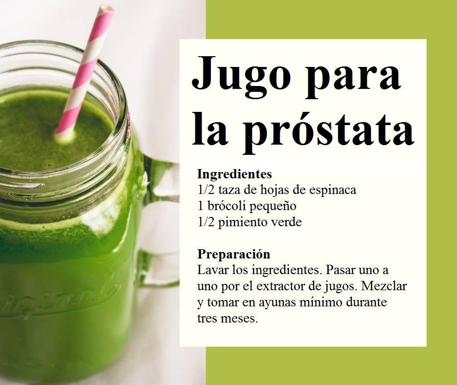 jugo de próstata