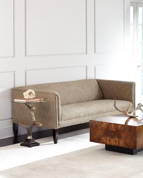 Dusk Button Tufted Sofa 92