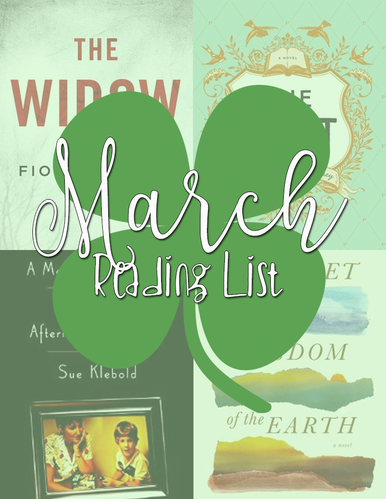 March Reading List - Confessions of a Cookbook Queen | Books