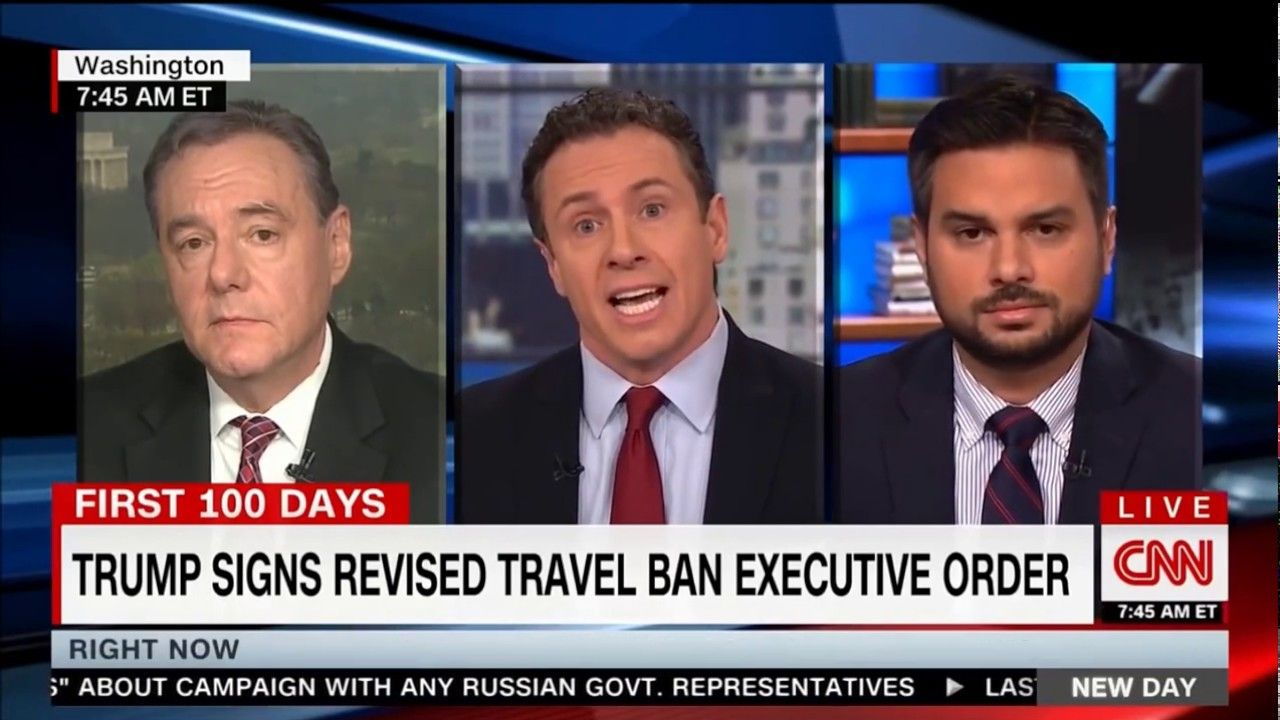 Dan Stein Debates ACLU on New Day CNN New day, Cnn