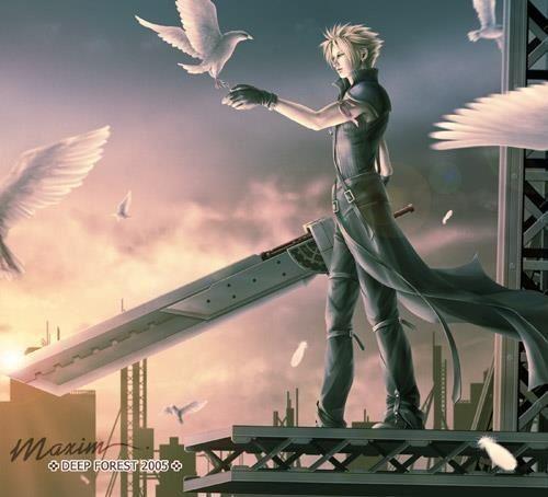 #Final_Fantasy #Cloud_Strife