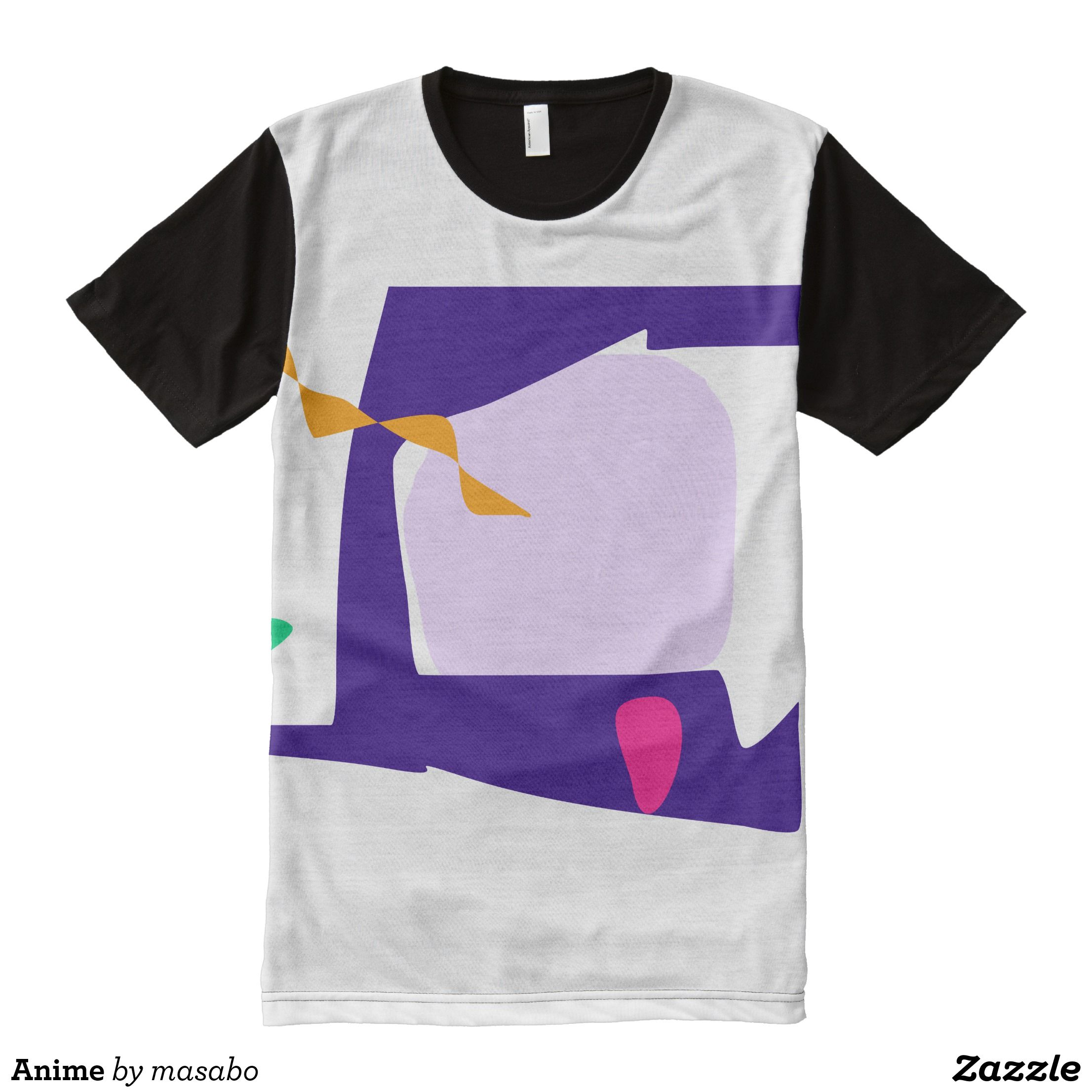 Anime All Over Print Shirt Visually Stunning Graphic T Shirts By