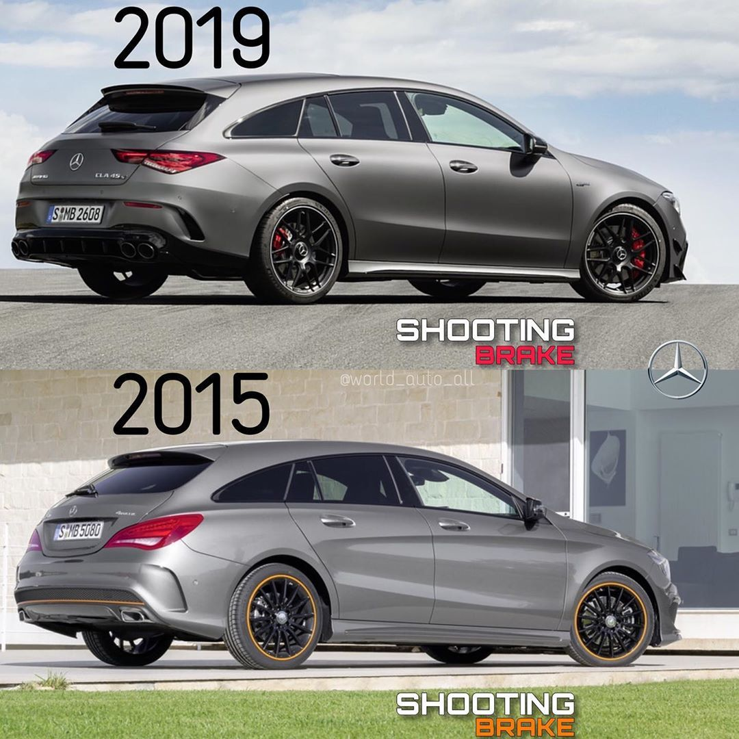Mercedes Cla Shooting Brake 2019 I 2015 Podpisyvajsya