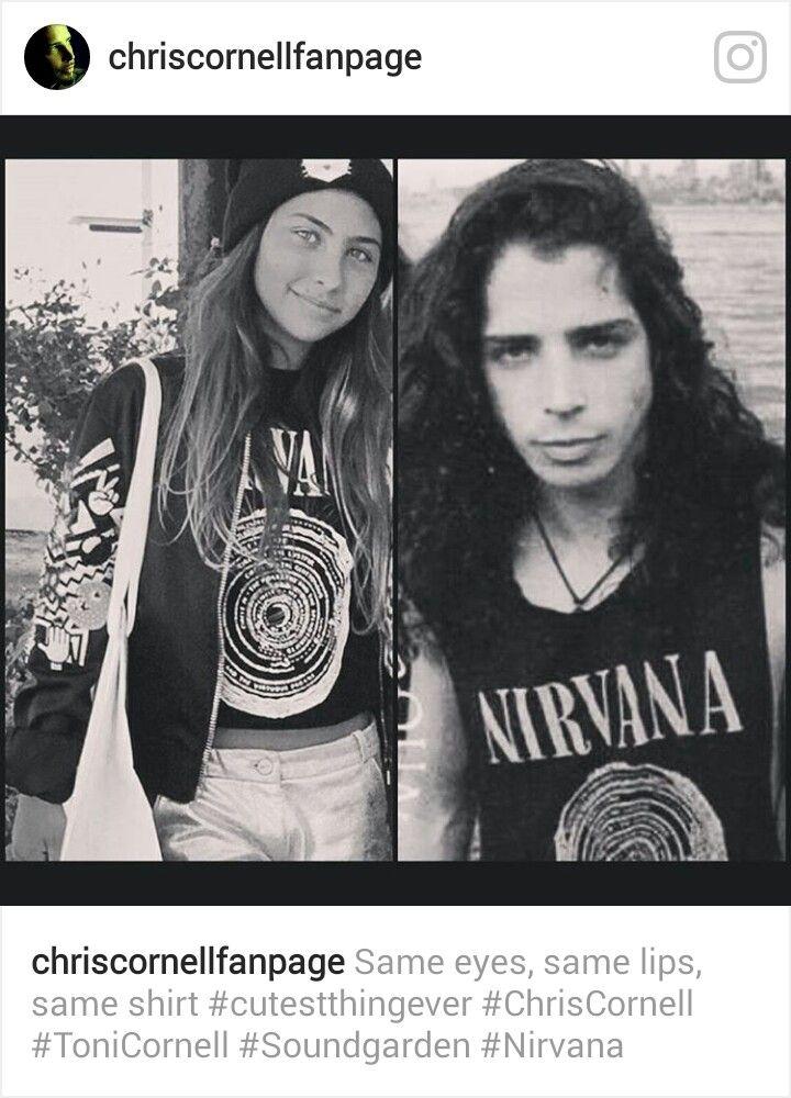8581969d237b3 Daughter Toni Young Chris in same shirt