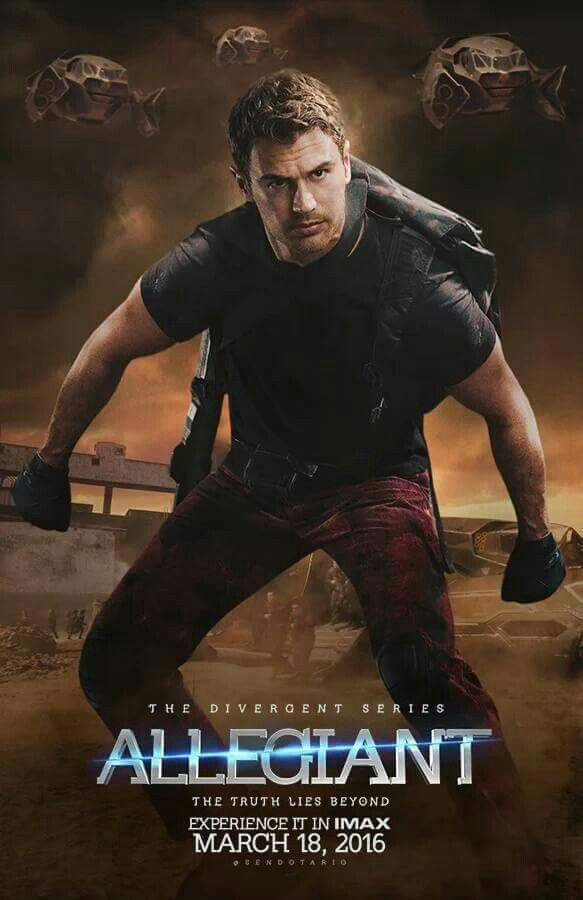 Allegiant the movie was really good; even though im super late I can't wait to read the book