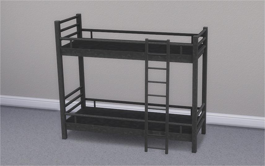 Etagenbett Sims 4 : Veranka s4cc: hipster loft bunk bed & mattresses captainc34