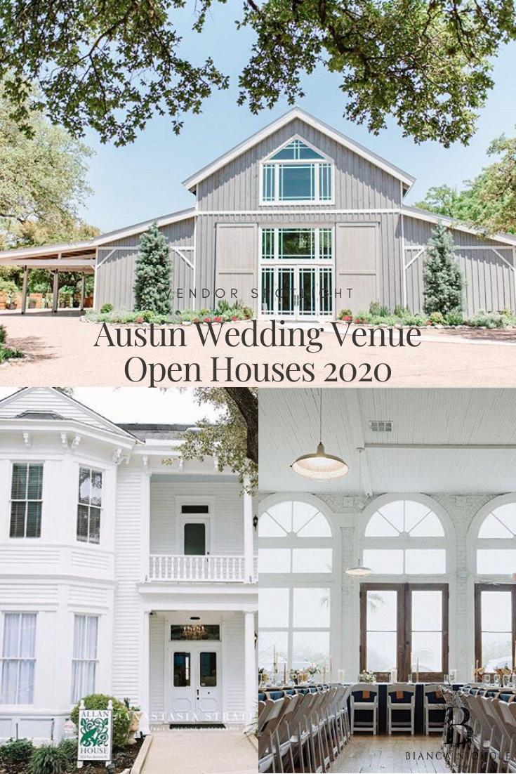 Austin Wedding Venue Open Houses in 2020   Austin wedding ...