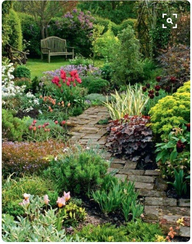 Garden Path Beautiful Gardens Cottage Garden Garden Inspiration