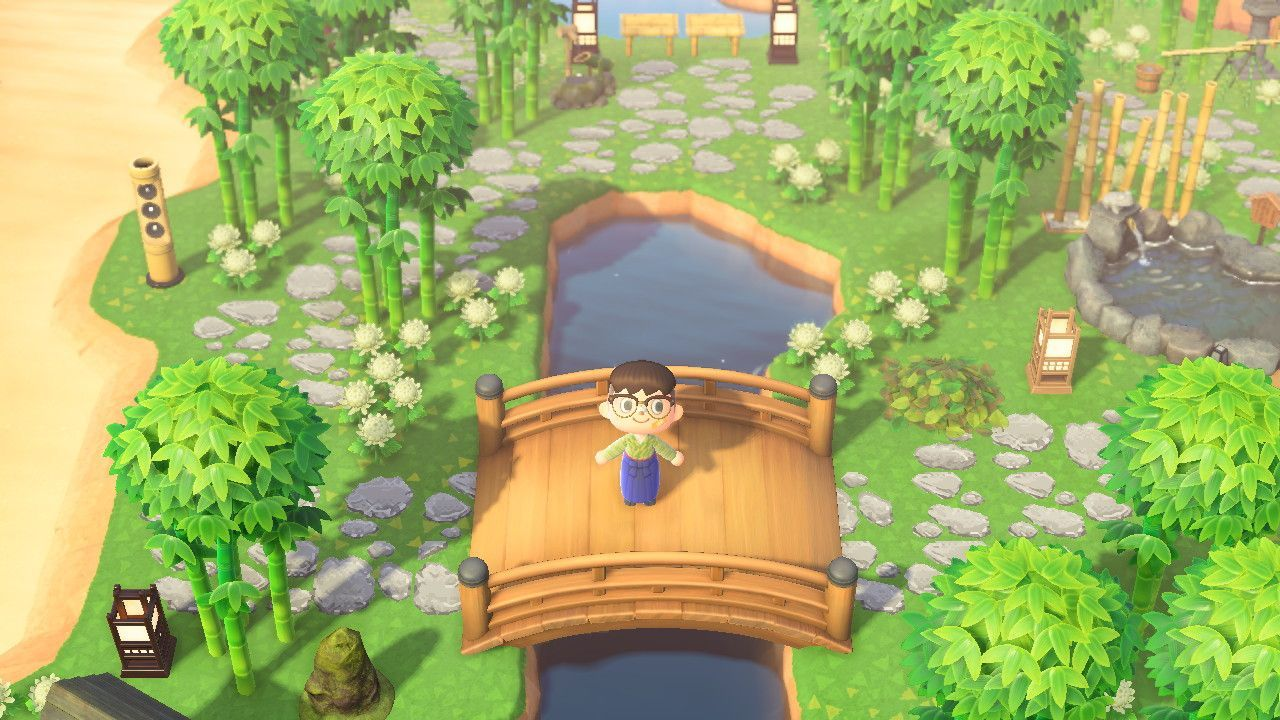 Itsa Me Nene Acnh On Animal Crossing Garden Animals New Animal Crossing