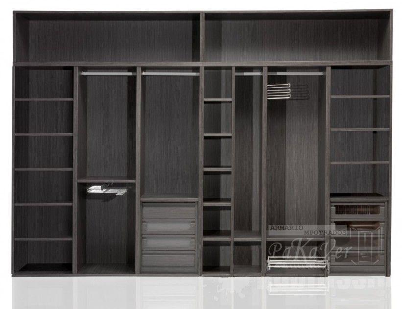 interiores de armarios empotrados | Armarios interiores | Pinterest ...