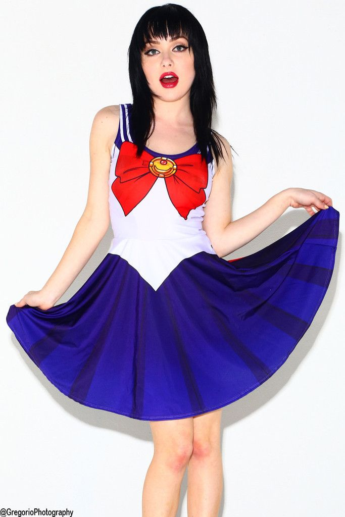 a6914c11d7ce 子鹿✞ Uñas Sailor Moon, Sailor Moon Dress, Sailor Moon Cosplay, Sailor Mars