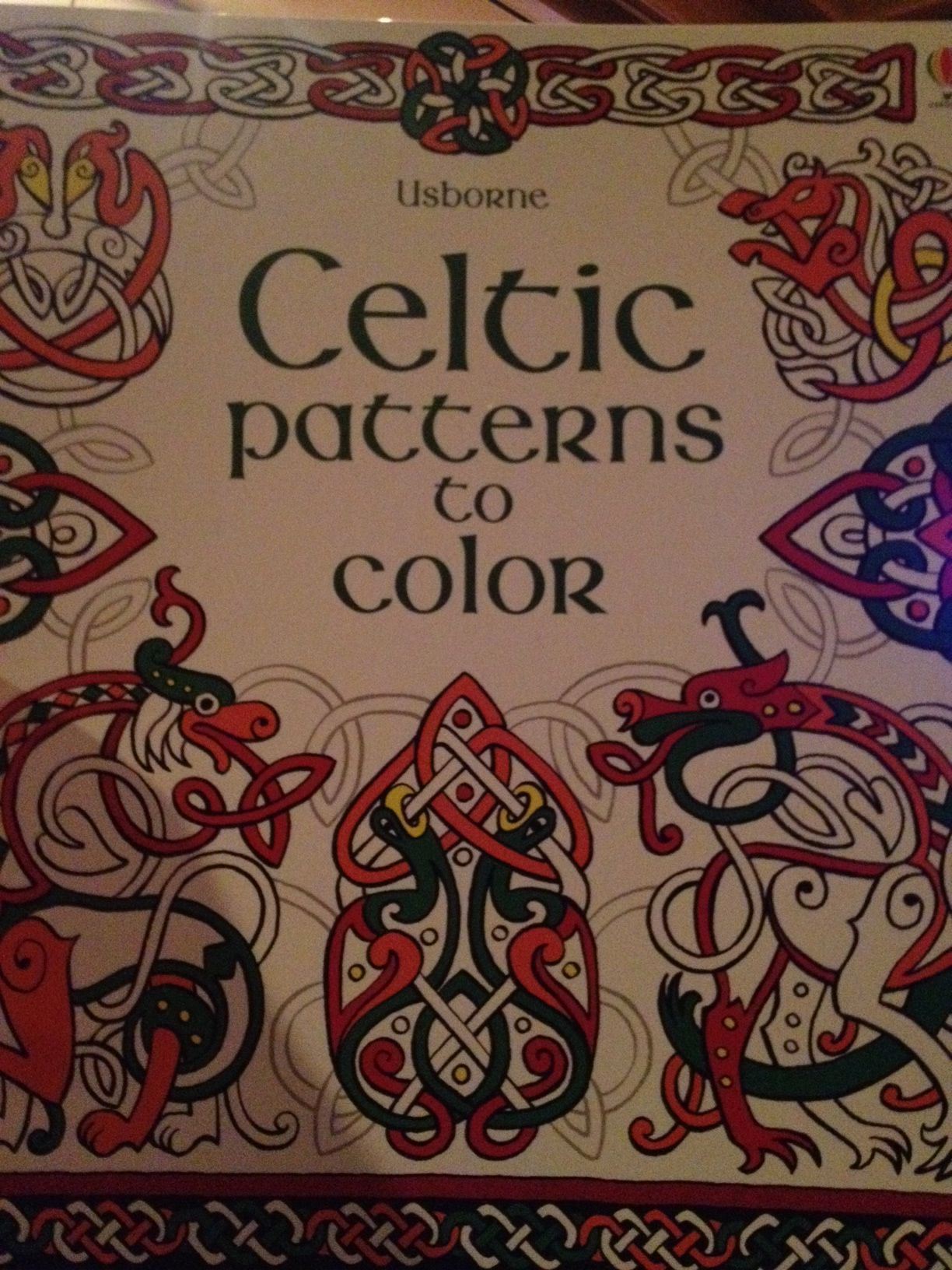 Celtic Patterns to Color  $5.99  Join our UBAM team on a Trip to Ireland in July 2015  www.familyreadinghabit.com
