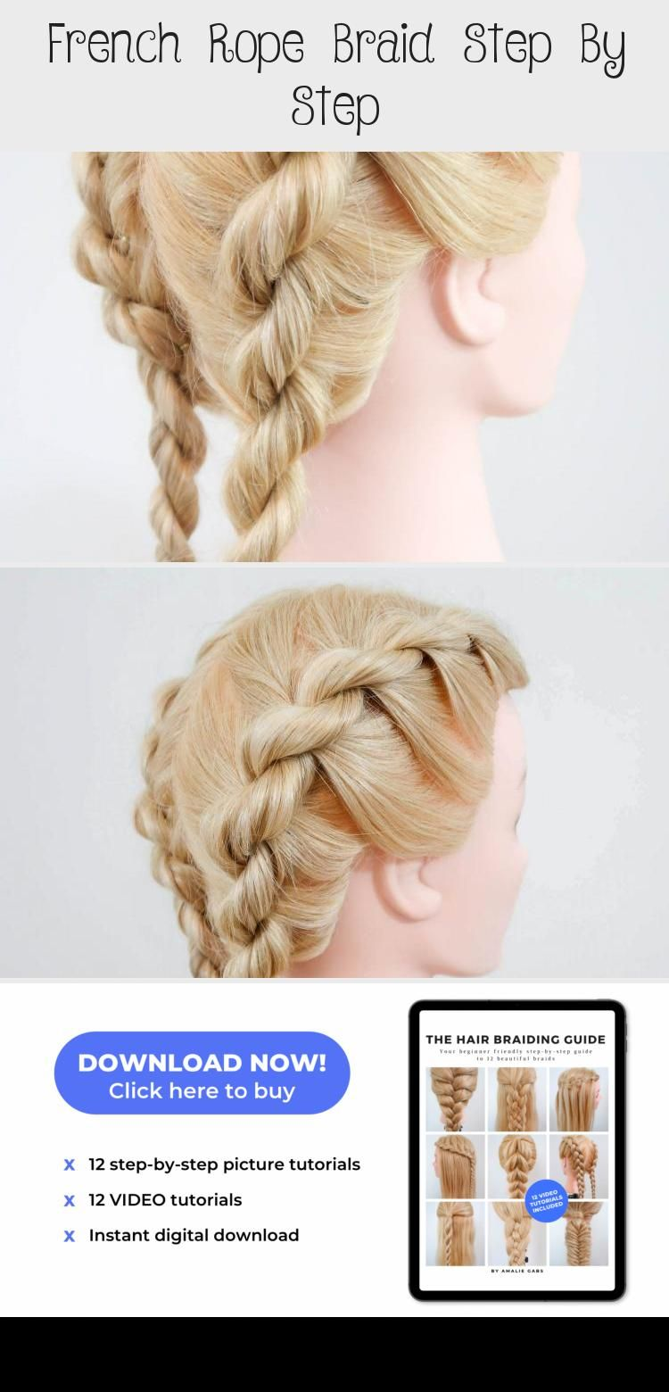 Super Easy To Try A New Hairstyle Download Tiktok Today To Find More Hairstyle Videos Also You Can Post Videos To Show Hair Hacks Hair Styles Hair Videos