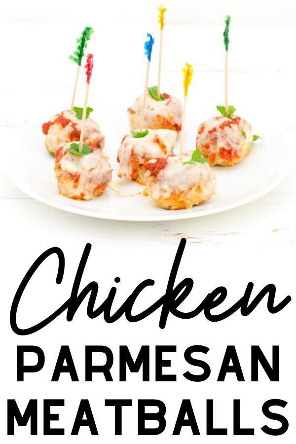 Photo of Chicken Parmesan Meatballs Recipe