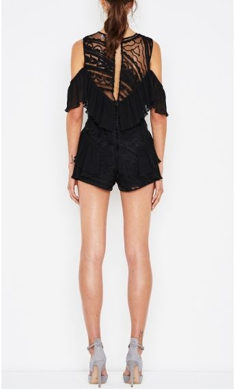 9e7fc3f8a01 You re So Young So Have Fun Girl Playsuit Black
