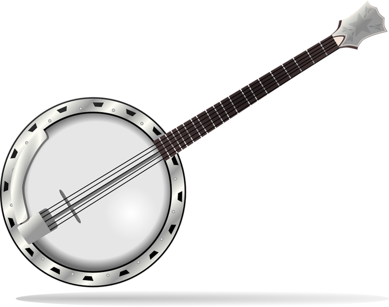 Tubes Png Banjo Music Clipart Banjo Music