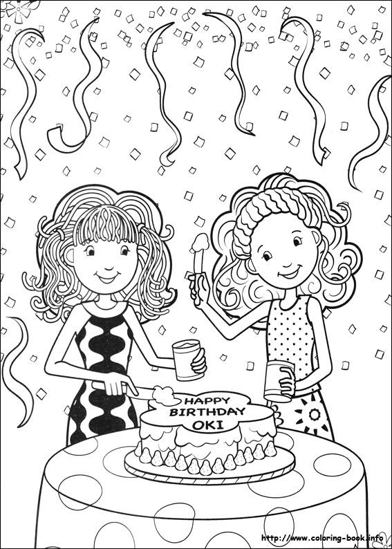 Groovy Girls coloring picture Doodle Ideas Pinterest Adult